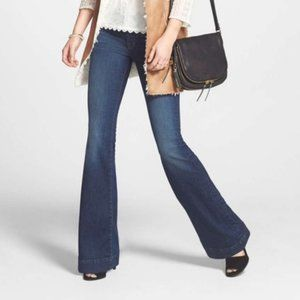 J Brand Love Story Flare Jeans in Worn Wash